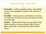 shooting rules the basics