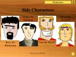 side characters