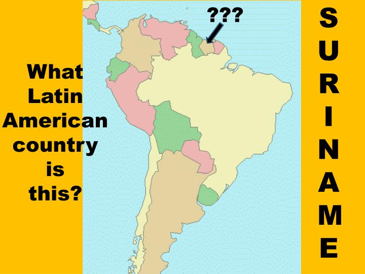 PPT - Latin America Map Review Count Up! Review Game PowerPoint ...