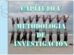 cap tulo v metodolog a de investigaci n