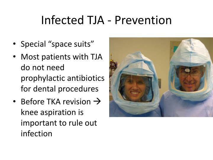 Infected TJA - Prevention