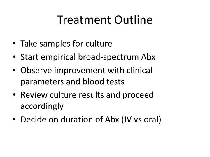 Treatment Outline