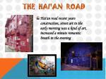 the hai an road
