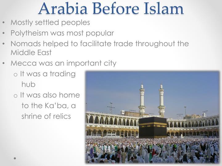 Arabia before islam