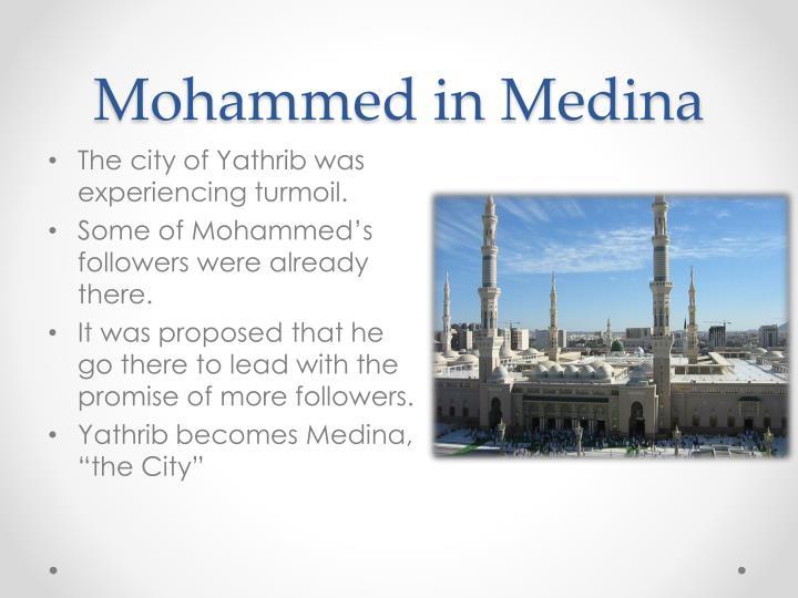 Mohammed in Medina
