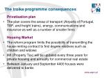 the troika programme consequences2