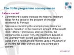 the troika programme consequences7