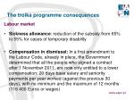 the troika programme consequences9