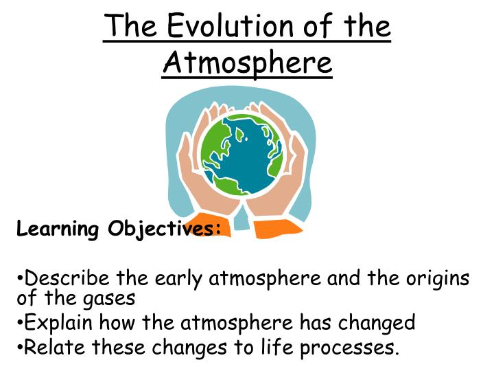 the evolution of the atmosphere n.
