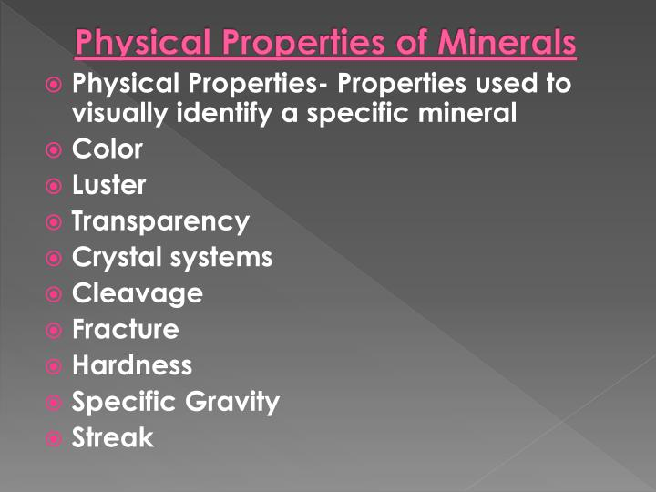 Ppt Rocks And Mineral Continued Powerpoint Presentation