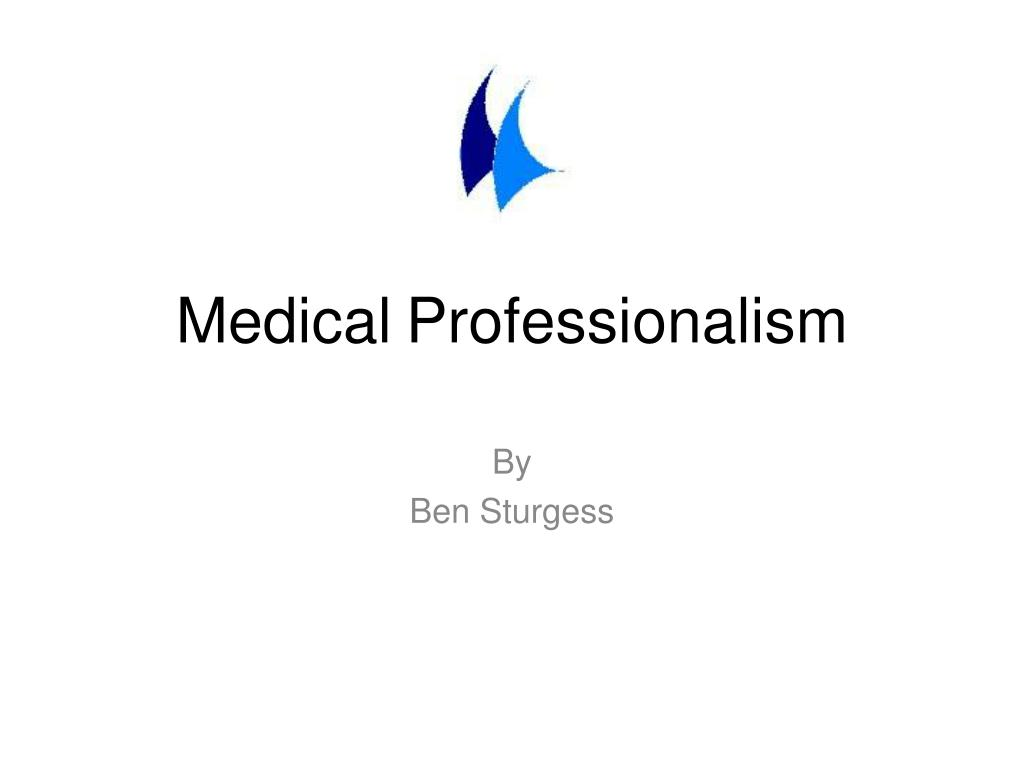 ppt medical professionalism powerpoint presentation id 1931638