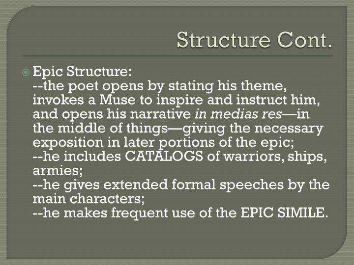 Structure Cont.