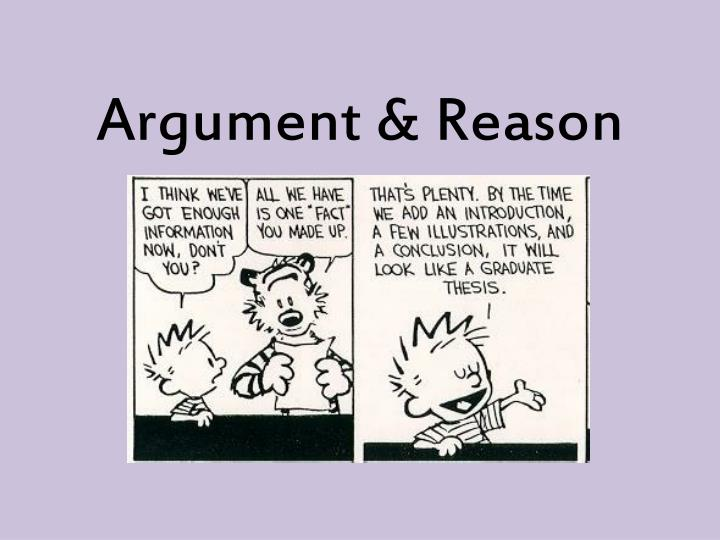 Argument from reason