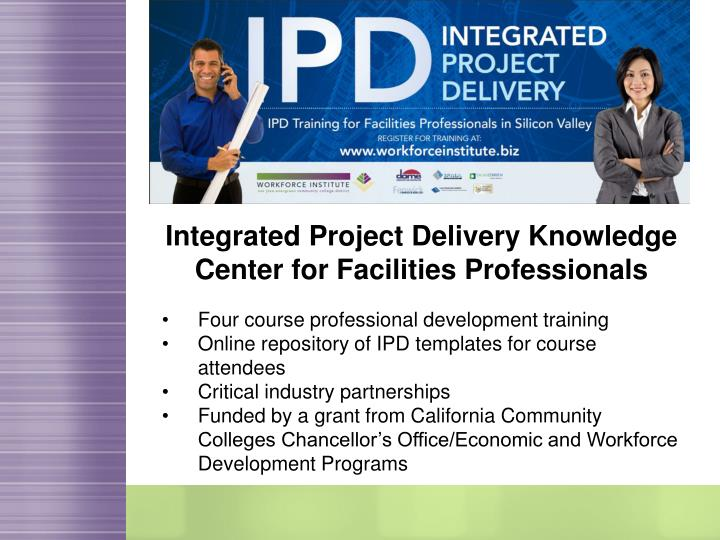 Integrated Project Delivery Knowledge