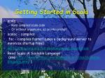 getting started in scala