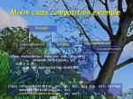 mixin class composition example