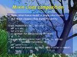 mixin class composition