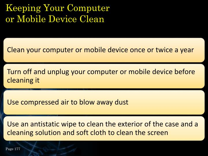 Keeping Your Computer