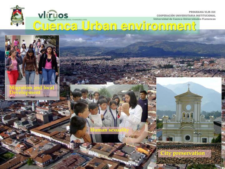 Cuenca Urban environment