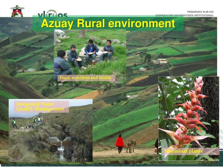 Azuay Rural environment