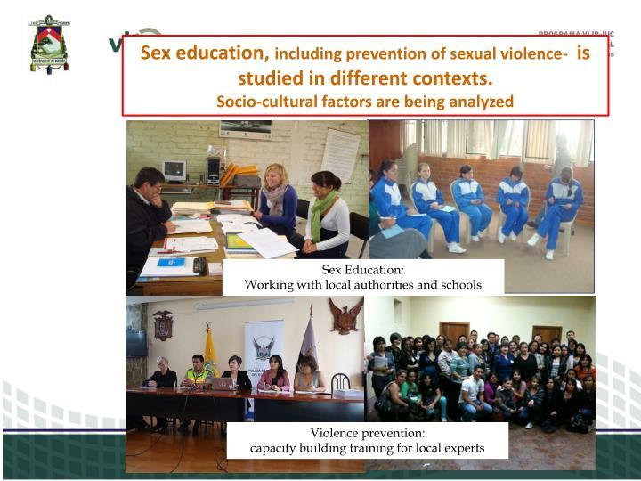 Sex education,