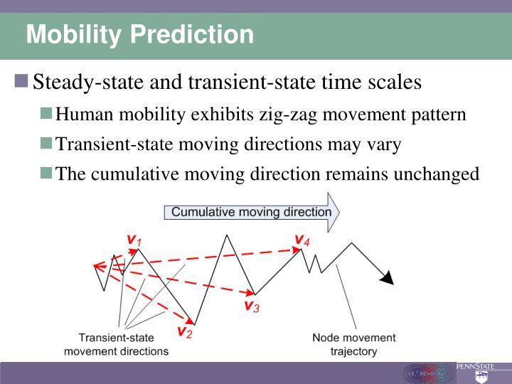 Mobility Prediction