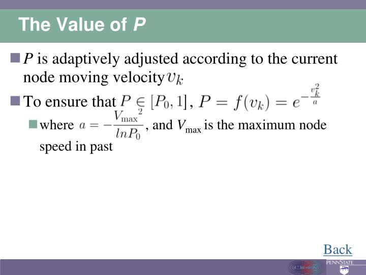 The Value of