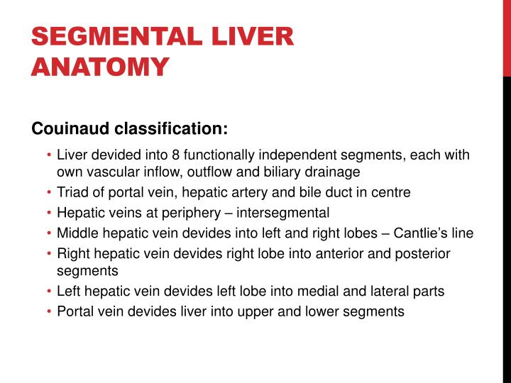 Ppt Imaging Anatomy Of The Liver Powerpoint Presentation Id1932425