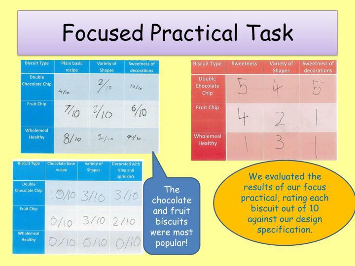 Focused Practical Task