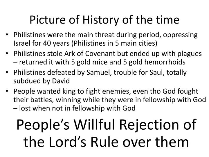Picture of History of the time