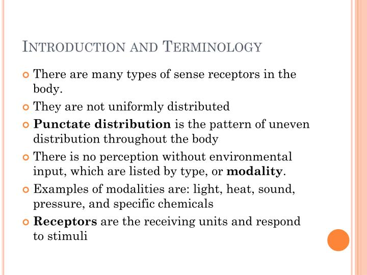 Introduction and terminology