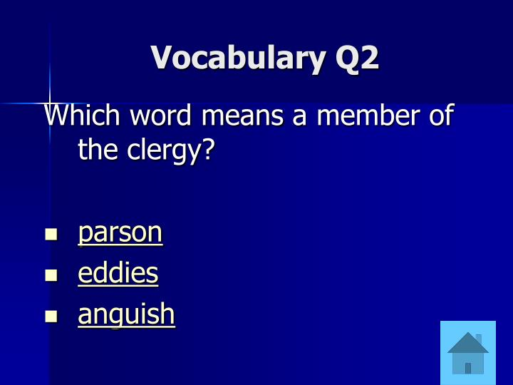 Vocabulary Q2