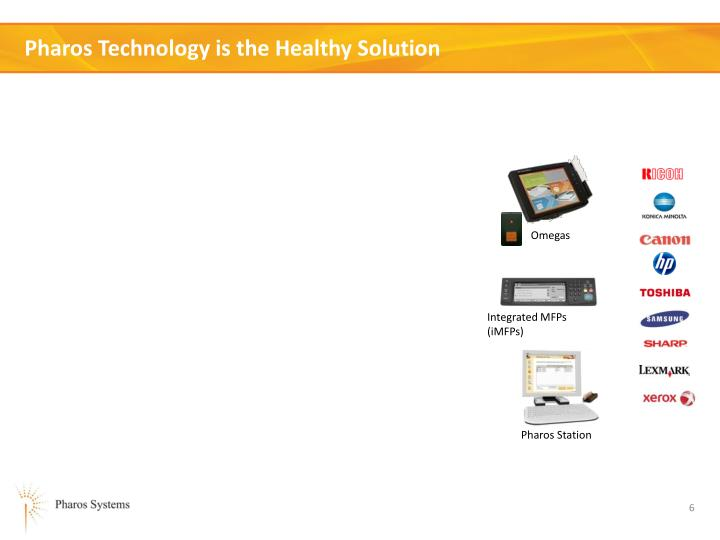 Pharos Technology is the Healthy Solution