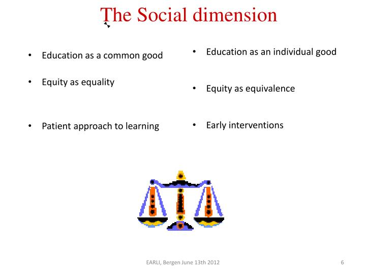 Education as a common good