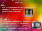 other designer drugs do not copy