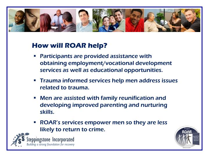 How will ROAR help?