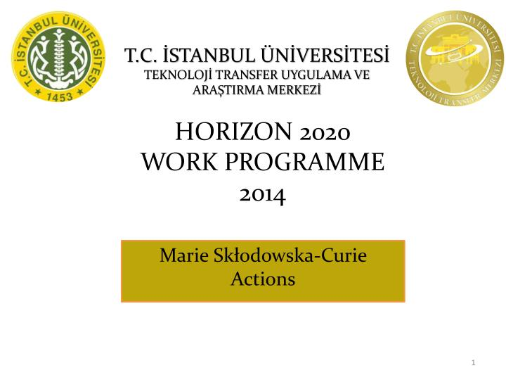 horizon 2020 work programme 2014 n.