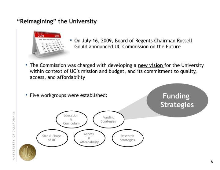 """Reimagining"" the University"
