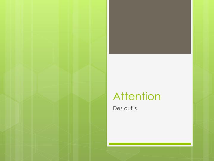 attention n.