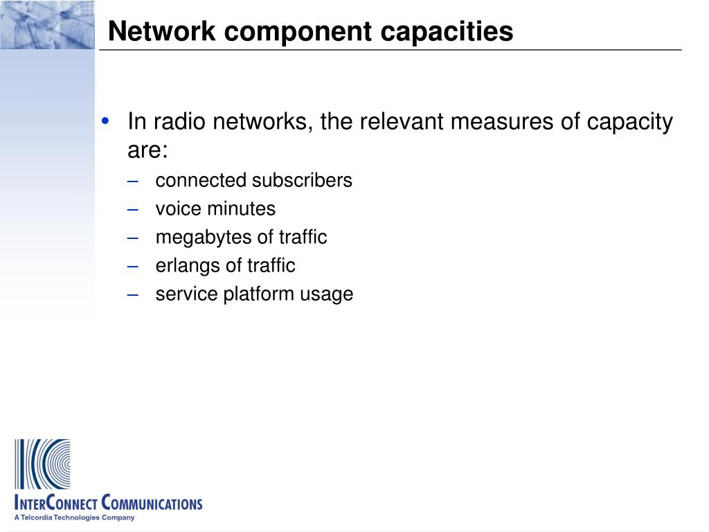 PPT - Subscriber Demands and Network Requirements – the