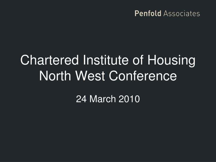 chartered institute of housing north west conference n.