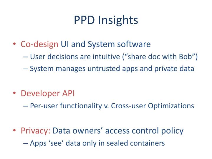 PPD Insights
