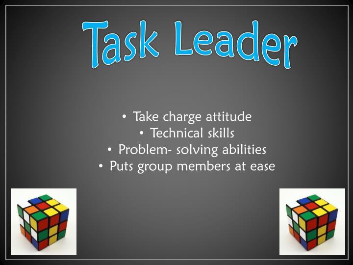 Task Leader