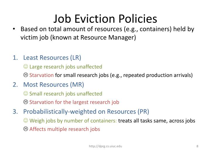 Job Eviction