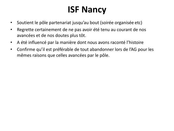ISF Nancy