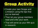 group activity3