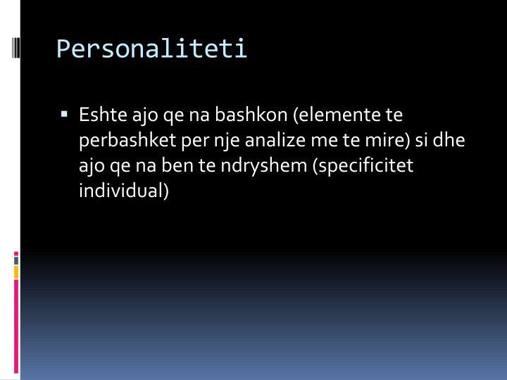 Personaliteti