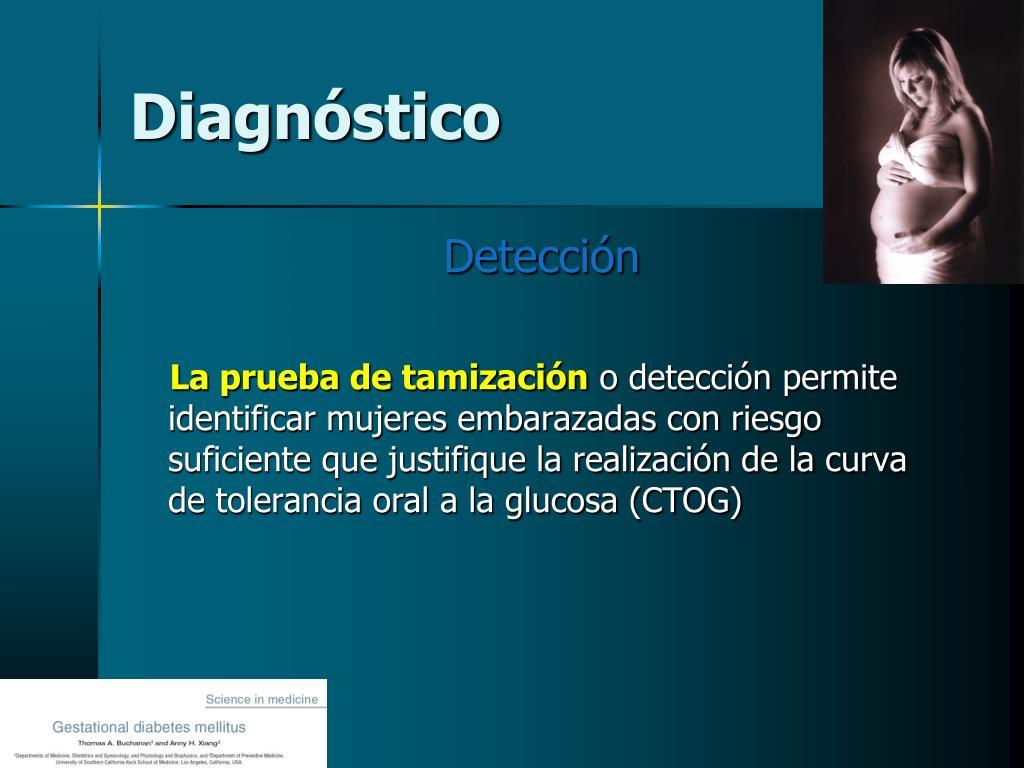 diagnóstico de pruebas de diabetes