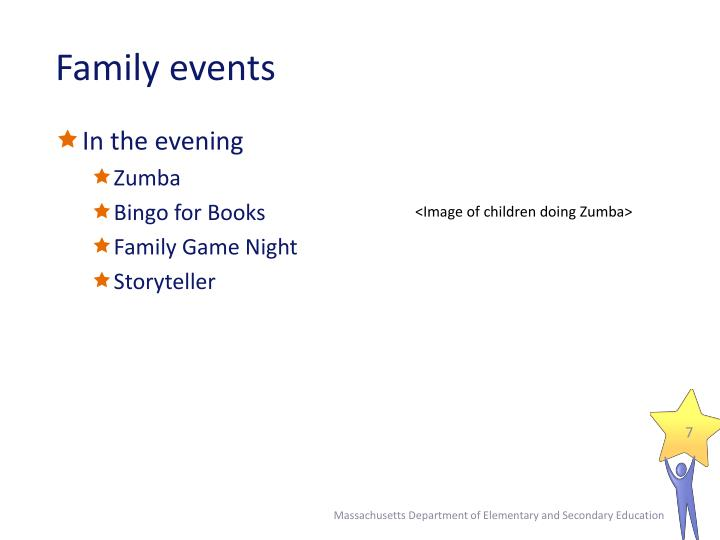 Family events