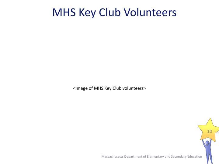 MHS Key Club Volunteers